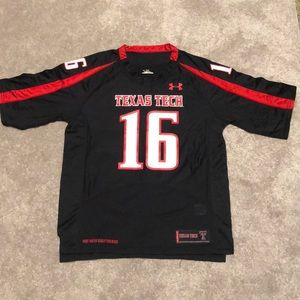 Texas Tech Red Raider Under Armour FB Jersey Small